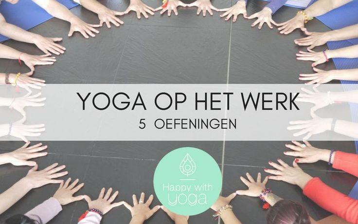 Yoga op het werk wordt steeds populairder. In deze blog lees je waarom dit zo is en geven we je praktische oefeningen om aan de slag te gaan op kantoor.