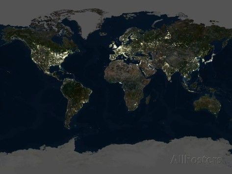 23 best maps images on pinterest maps earth from space and whole earth at night satellite image gumiabroncs Gallery