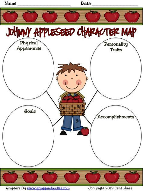 "This is a FREE sample from my Johnny Appleseed : An ""A-peeling"" Apple Thematic Unit."
