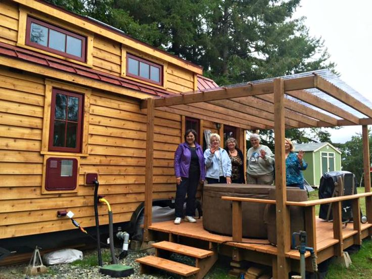 Savvy Seniors Are Buying Tiny Homes To Enjoy Their Golden Years In Off Grid  Style