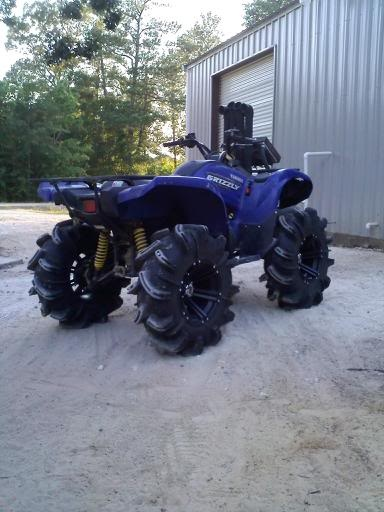 C Fbfbd E A C Fe A B on Yamaha Grizzly 660 Lifted