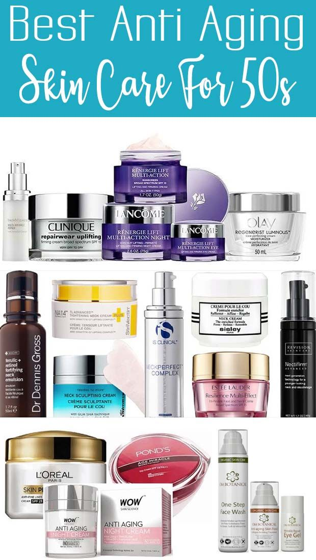 Top Anti Aging Skin Care Over 50 Over 50 Anti Aging Skin Products Top Anti Aging Products Anti Aging Skin Care