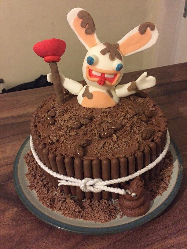 Lapin Crètin cake