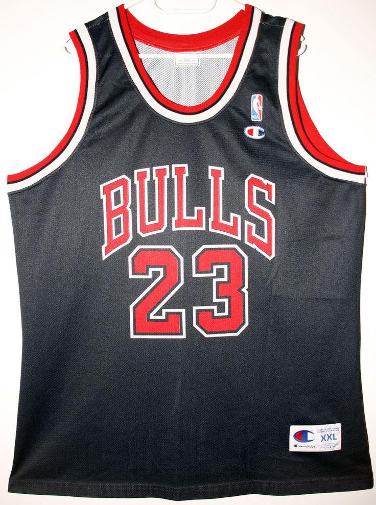 Champion NBA Basketball Chicago Bulls #23 Michael Jordan Size 52 - Größe XXL - 99,90€ #nba #basketball #trikot #jersey #ebay #etsy #hood #sport #fitness #fanartikel #merchandise #usa #america #fashion #mode #collectable #memorabilia #allbigeverything