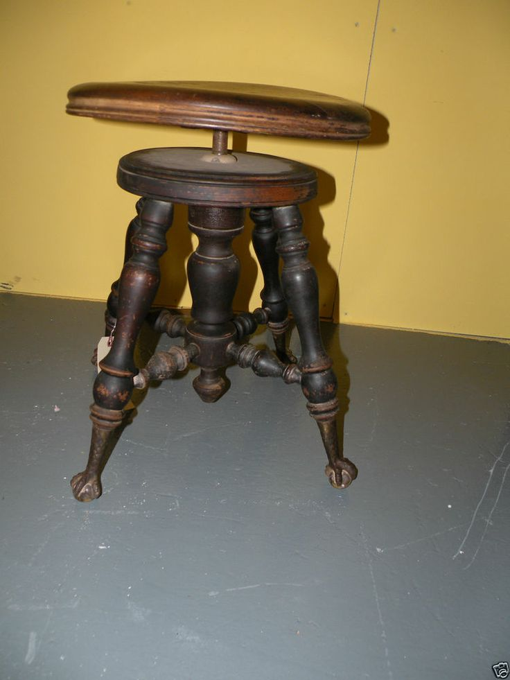 Antique Bed Stool: 20 Best Images About Antique Chairs On Pinterest