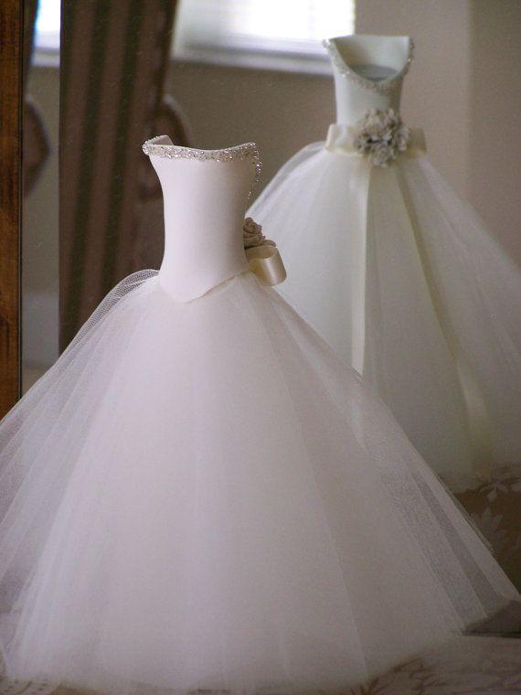 Tabla de la boda decoración Pure Romance por FavorsByGirlybows