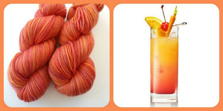 Tequila Sunrise - Summer Cocktails | Red Riding Hood Yarns