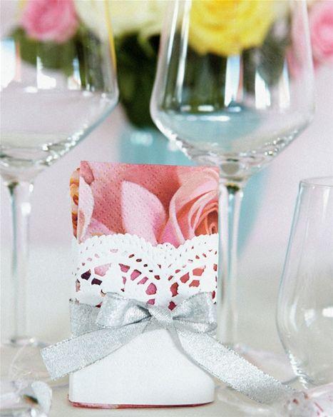 Smukke servietter til festen