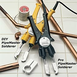 For DIY plumbing repairs, the Copper Pipe Soldering Tool is a safer alternative to an open flame torch.