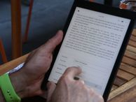 Kobo Aura One: The waterproof e-reader that's as big as an iPad Kobo's latest E-Ink e-reader has a larger 7.8-inch screen that helps differentiate it from Kindles.
