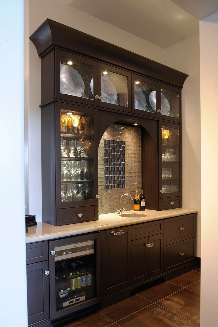 Luxury Custom Basement Bars