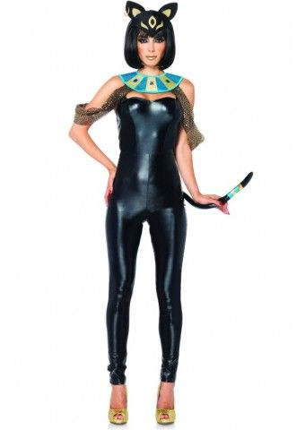 Egyptian Cat Suit Womans Costume reminds me of Katy Perry's Dark Horse video. $48.50