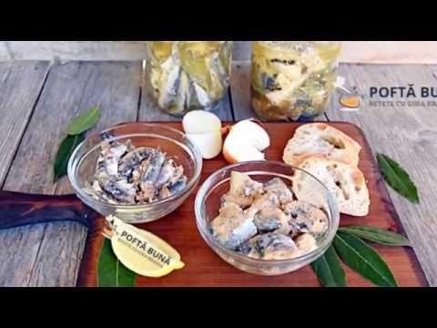 Conserva de peste in ulei picant sau cu usturoi, reteta veche, dobrogeana - YouTube