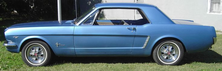 Mustang 64 1/2 - had a blue one just like this and sold it (one of the stupidest things I've ever done)...