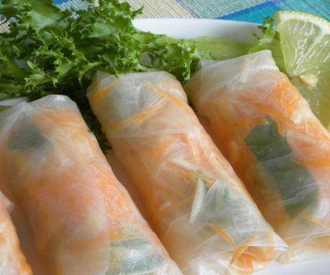 ... spring rolls and sushi on Pinterest | Vietnamese spring rolls, Quinoa