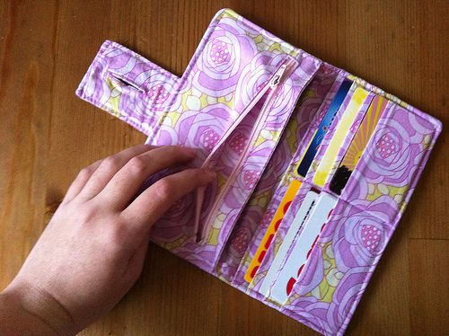 dixie diy wallet - Google Search