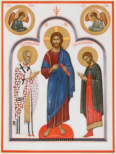 Спаситель с предстоящими святыми