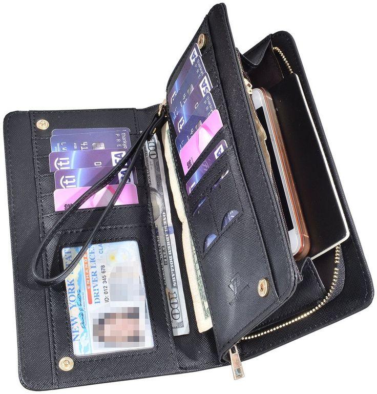 Women Lady Leather Wallet Zipper Purse RFID Credit Card Clutch Holder Case Girl  #YuhanPretty