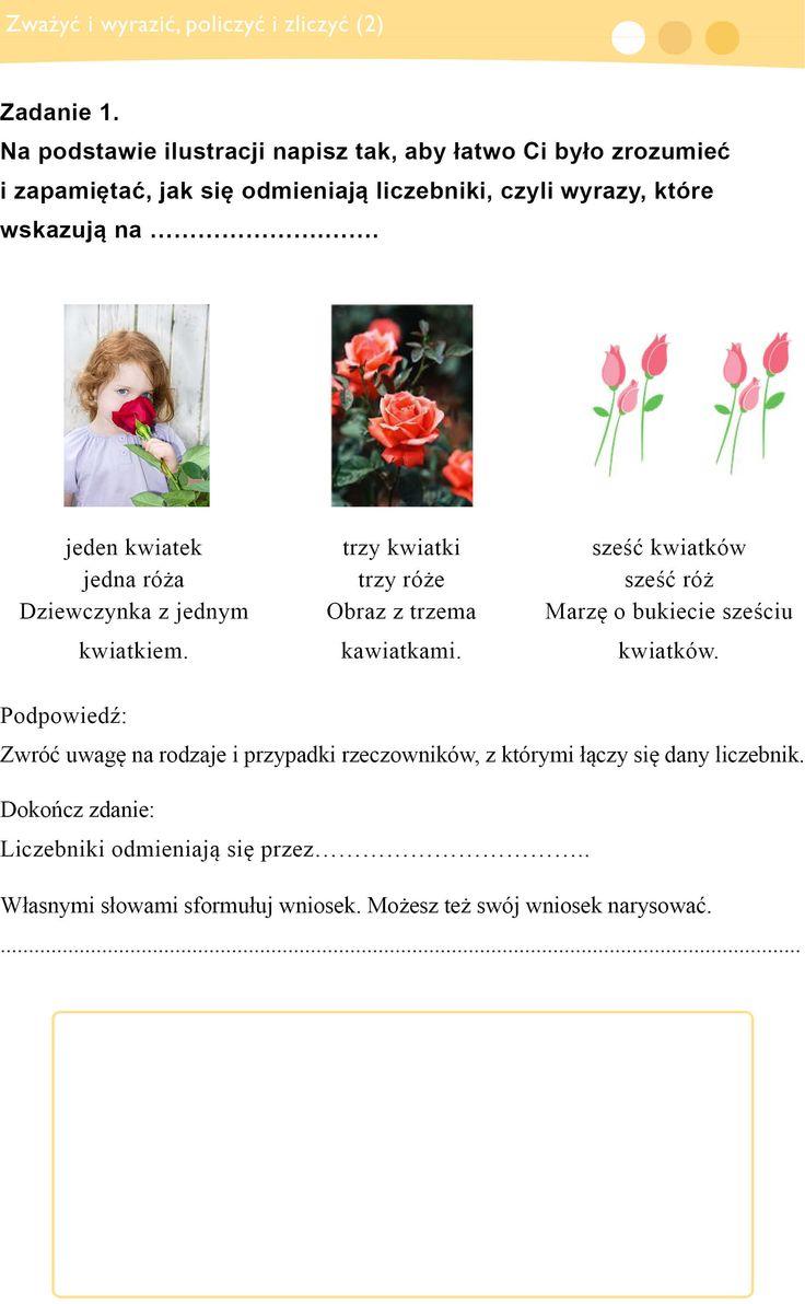 LICZEBNIKI Włącz Polskę- Polska-szkola.pl