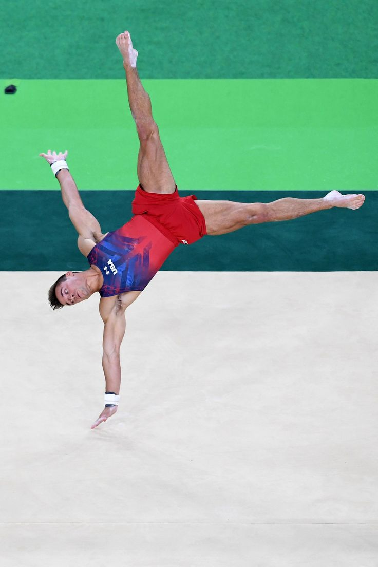 The Sexist Reason Male Gymnasts Aren't Allowed to Use Music in Their Floor…