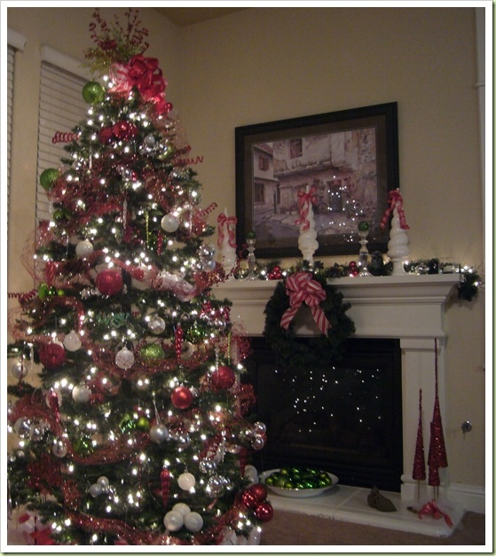 17 Best Images About Christmas Decor Reds White Grays