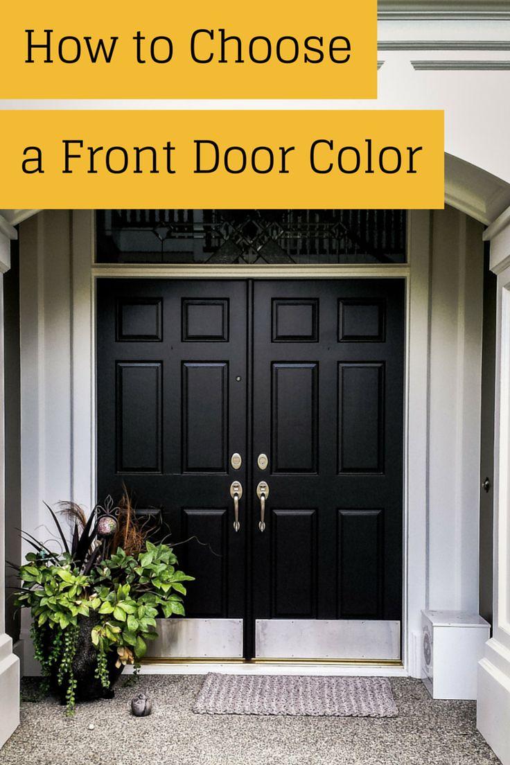 Best 25+ Black front doors ideas on Pinterest   Entry ...