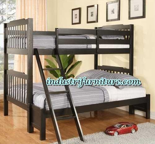 Tempat tidur anak tingkat yang terbuat dari bahan kayu jati. Silahkan pesan pada kami disini. Hp : 085200934562 Pin BBm : 24d2850d