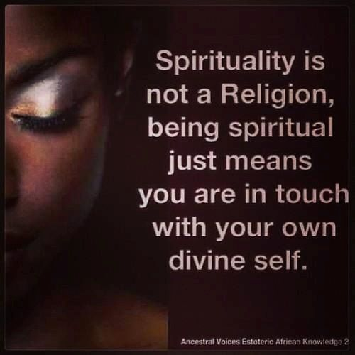 The sense of spirituality based on different religions