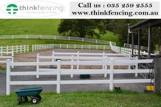 Think Fencing every product use only state-of-the-art plastic processing technologies & materials. This fence design is fully hardened & all part comes with top quality guarantee.