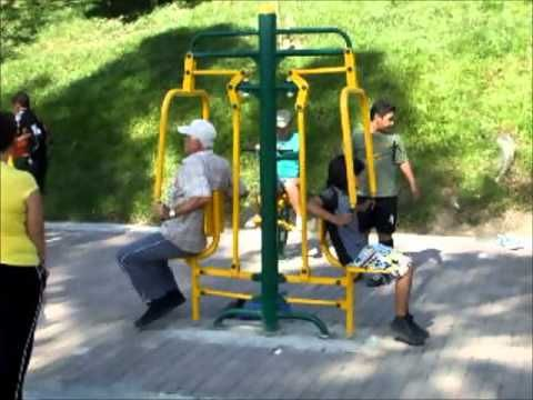 PARKEMAS, Parques biosaludables - gimnasios al aire libre