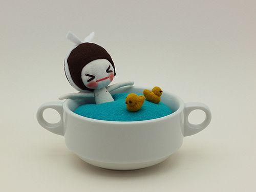 Ah~ bath time