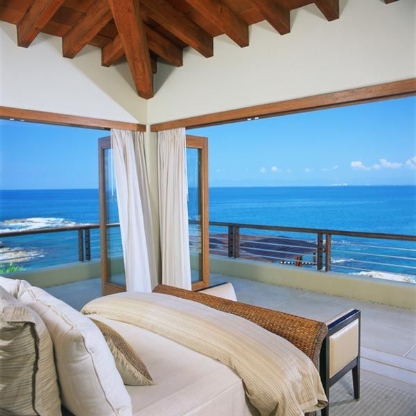 Later edit : The property is actually in Puerto Vallarta, Mexico and the view is of the Pacific Ocean.