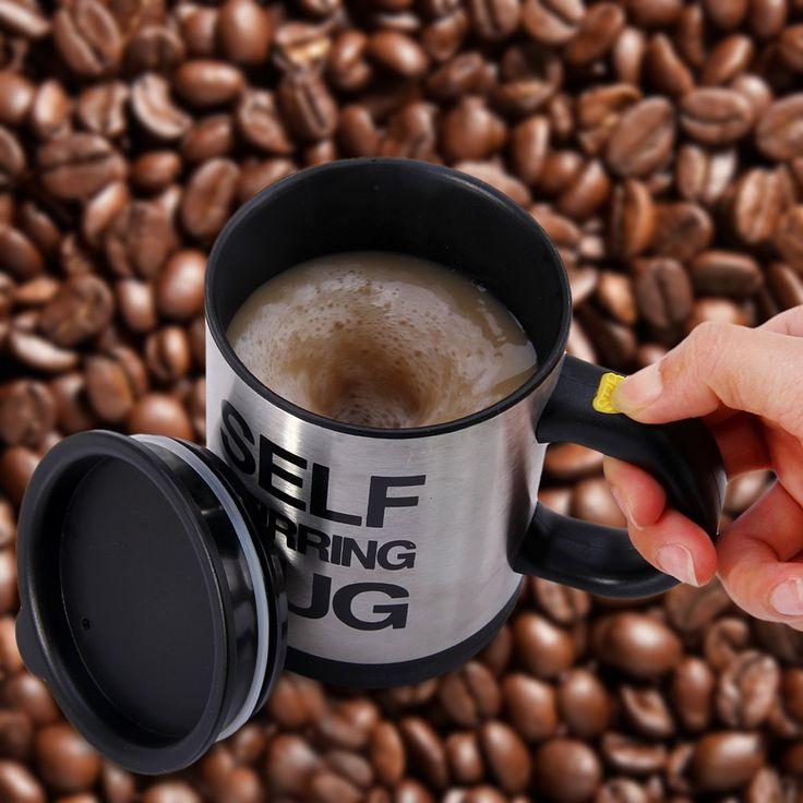 Auto Agitation Café Tasse Tasses Double Isolation Tasse de Café 400 ML Automatique Électrique Café Tasses Smart Tasses De Mélange Café Tasse