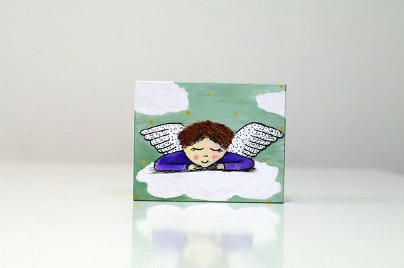 Painted boxes for kids Wooden Jewelry box Painted by artbyasta