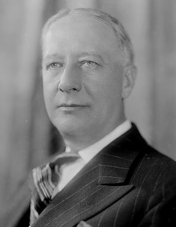 Governor Al Smith (NY). The man who played a strategic role in getting Joseph Crater on the NY State Supreme Court.