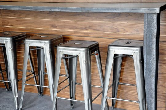 Love these stools...from the bar at Delancey Pizza in Seattle.