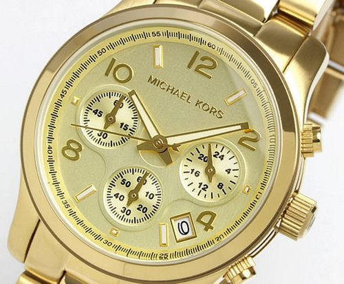 Michael Kors Women's Runway Chronograph Watch MK5055 - In Stock, Free Next Day Delivery, Our Price: £139.99, Buy Online Now
