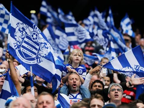 QPR at Wembley Stadium