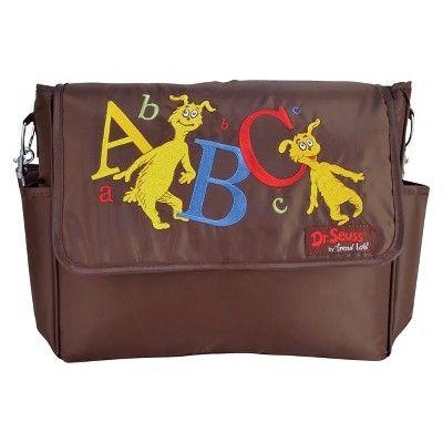Trend Lab Dr Seuss Abc Messenger Diaper Bag