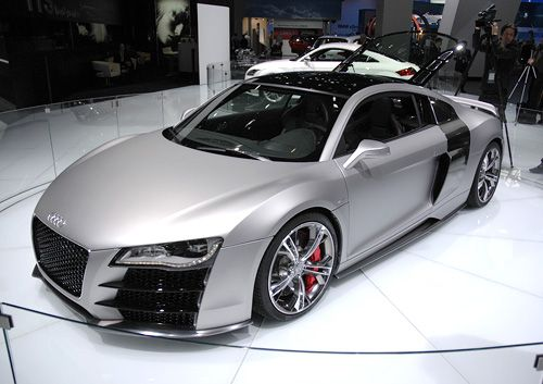 The 2012 Audi R8. I can see myself behind the wheel. Nice.