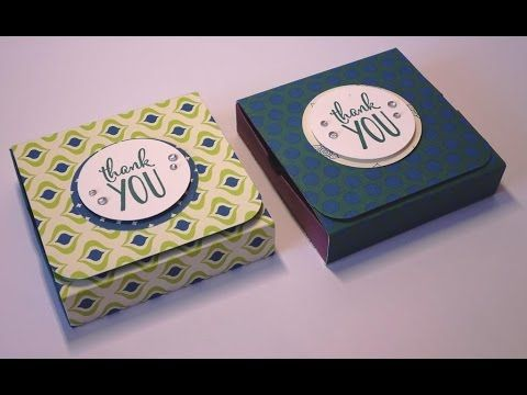 Gorgeous Box for 4 Tea Lights - YouTube