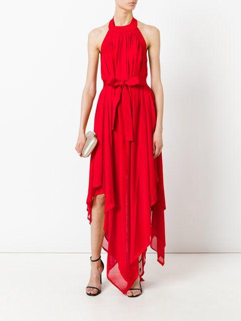 Balmain Vestido assimétrico