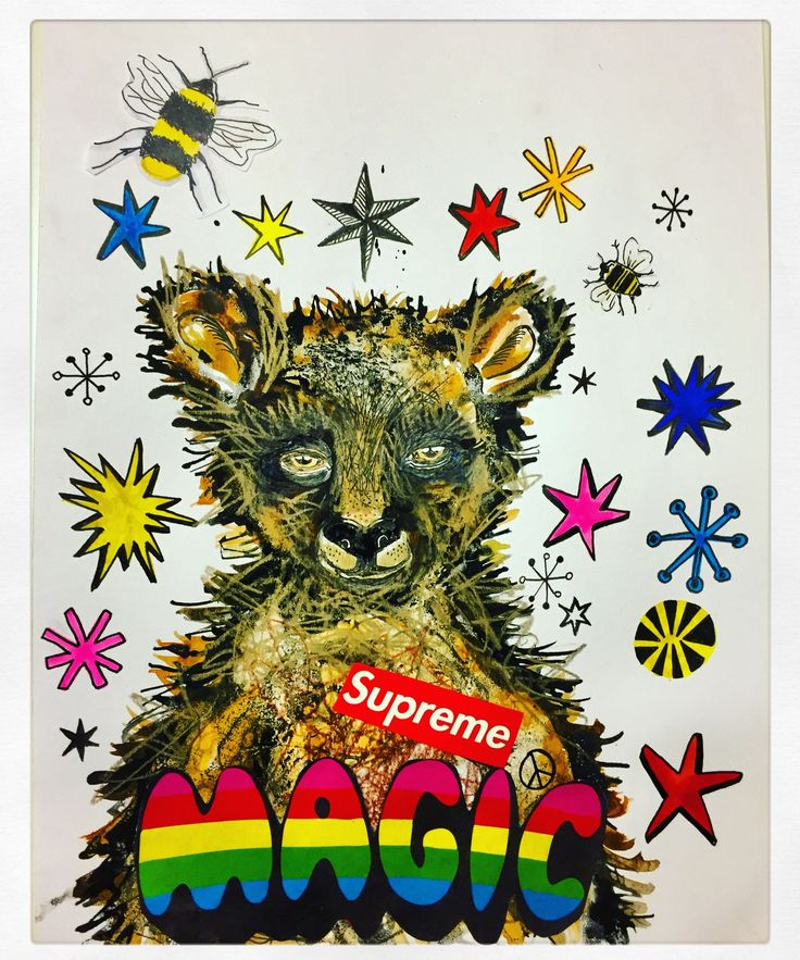 SuPrEmE MAgiC Bear illustration by Lizzie Reakes