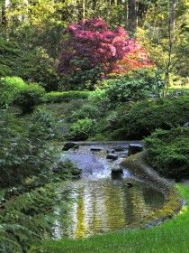 The Peace Garden -- The Grotto, Portland, Or
