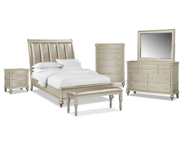 Brushed Nickel King Size Headboard: 357 Best Images About Value City Furniture On Pinterest