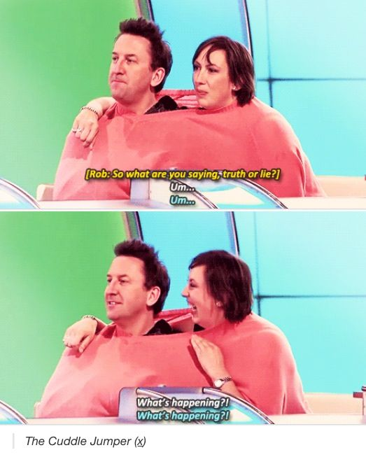 The Cuddle Jumper | Lee Mack and Miranda Hart | Would I Lie To You?