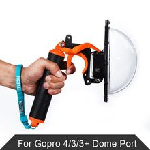 "Like and Share if you want this  TELESIN 6"" Dome Port Underwater Photography For GoPro HD Hero 4 3 Waterproof 30M With Floaty Grip For Gopro Hero Action Camera     Tag a friend who would love this!     FREE Shipping Worldwide     #ElectronicsStore     Buy one here---> http://www.alielectronicsstore.com/products/telesin-6-dome-port-underwater-photography-for-gopro-hd-hero-4-3-waterproof-30m-with-floaty-grip-for-gopro-hero-action-camera/"