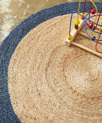Armadillo & Co Braid Weave - Pinwheel Rug Large
