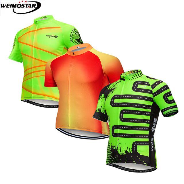 Weimostar 2018 Pro Team Cycling Jersey Top Bike Shirt Mtb Ropa