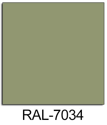 Image result for RAL 7034
